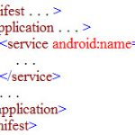 Tập tin AndroidManifest.xml của Android